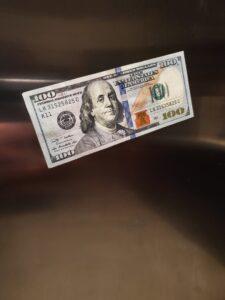 $100 Dollar Bill Magnet