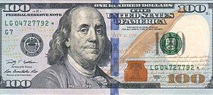 $100 Dollar Bill